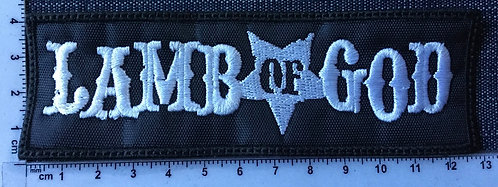 LAMB OF GOD - LOGO EMBROIDERED PATCH