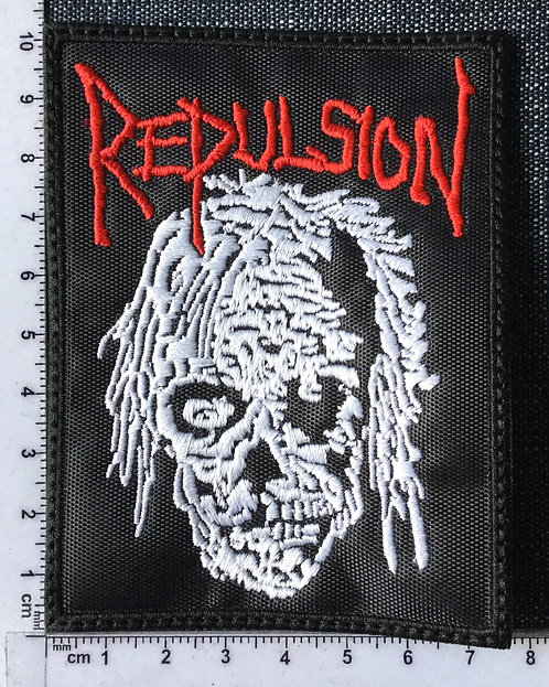 REPULSION - DEATH EMBROIDERED PATCH