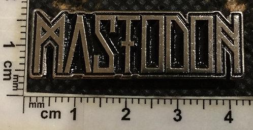 MASTODON - LOGO Metal Pin