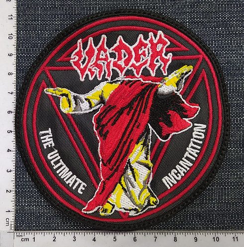 VADER - THE ULTIMATE INCANTATION EMBROIDERED PATCH