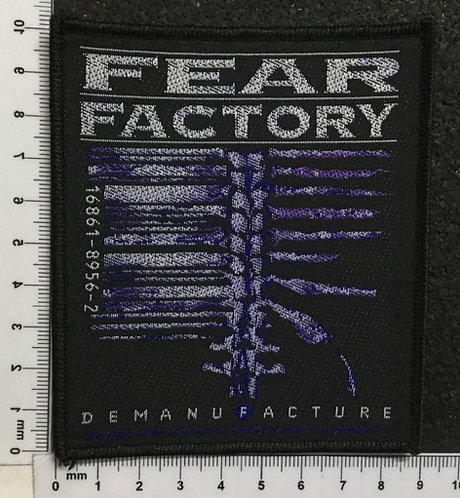 FEAR FACTORY - DEMANUFACTURE WOVEN PATCH
