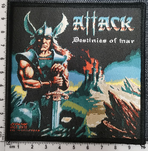 ATTACK - Destinies of War Woven Patch