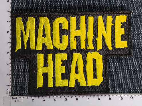MACHINE HEAD - LOGO EMBROIDERED PATCH