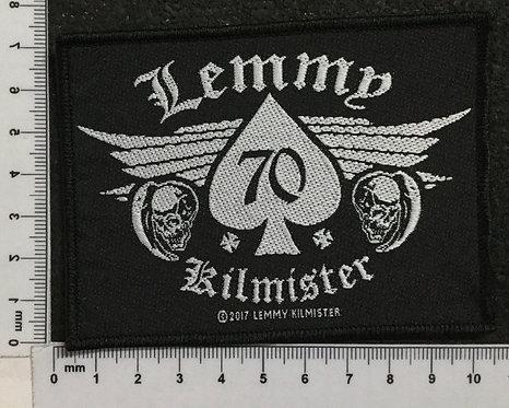 LEMMY KILMISTER - 70 WOVEN PATCH