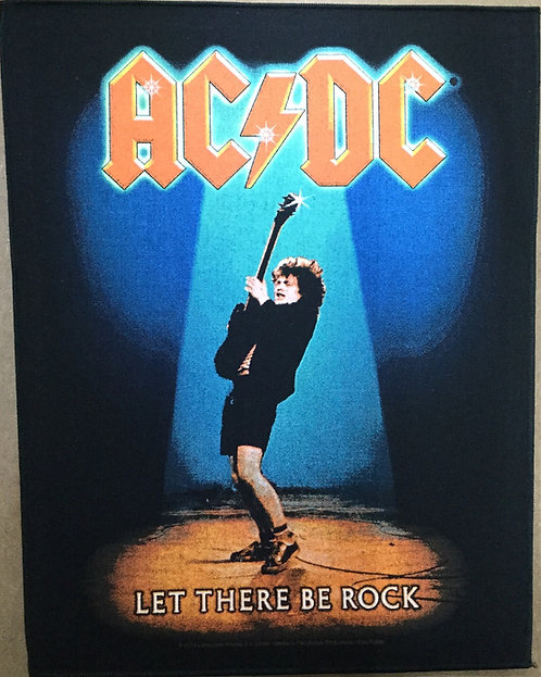 AC/DC - Let There Be Rock Back Patch