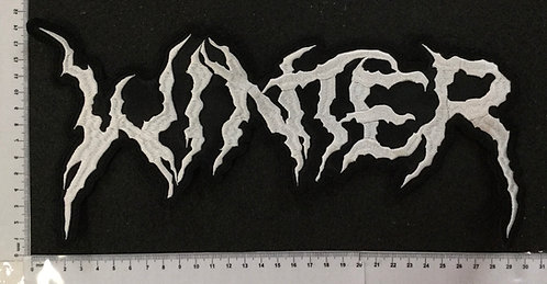WINTER - LOGO EMBROIDERED BACK PATCH