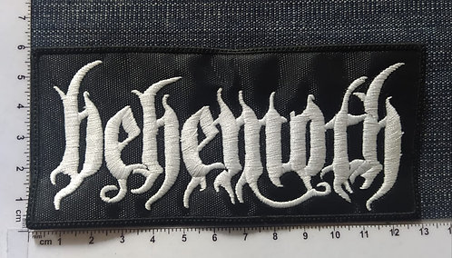 BEHEMOTH - RECTANGLE LOGO EMBROIDERED PATCH