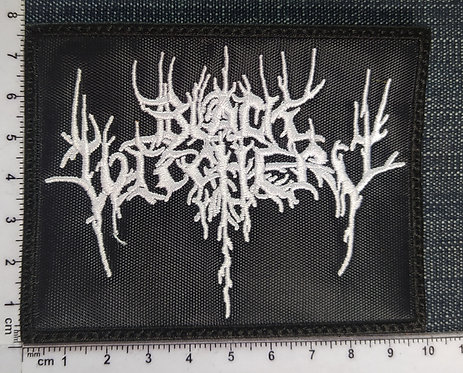 BLACK WITCHERY - EMBROIDERED PATCH