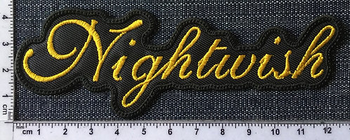 NIGHTWISH - SHAPED LOGO EMBROIDERED PATCH