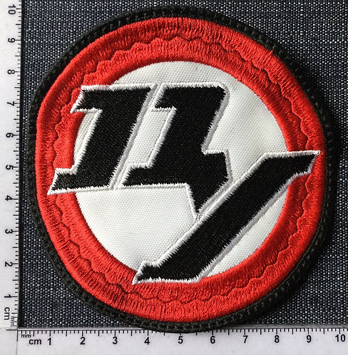 DAMN YANKEES - CIRCLE EMBROIDERED PATCH