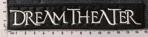 DREAM THEATER - LOGO EMBROIDERED PATCH