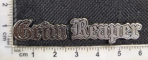GRIM REAPER - LOGO METAL PIN