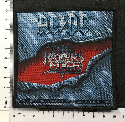 AC/DC - THE RAZORS EDGE WOVEN PATCH