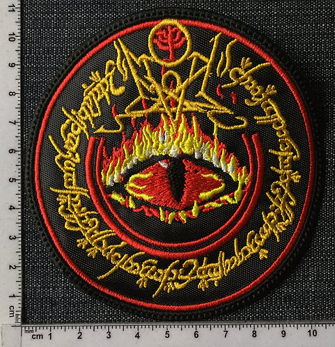 SUMMONING - EYE OF SAURON EMBROIDERED PATCH