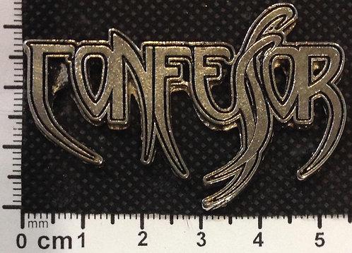CONFESSOR - LOGO Metal Pin