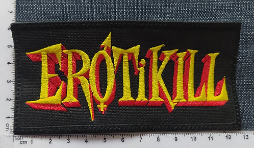EROTIKILL -  LOGO EMBROIDERED PATCH