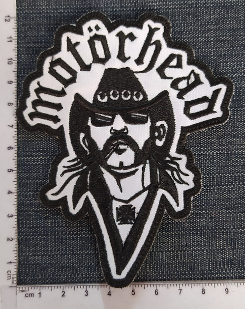 MOTORHEAD - LEMMY EMBROIDERED PATCH