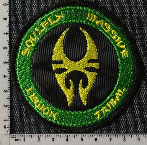SOULFLY - TRIBAL EMBROIDERED PATCH