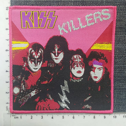 KISS - KILLERS WOVEN PATCH