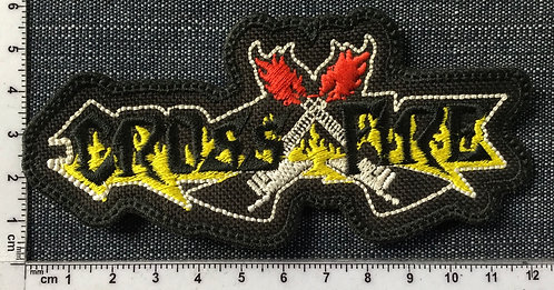 CROSS FIRE - LOGO EMBROIDERED PATCH