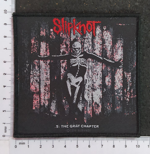 SLIPKNOT - THE GRAY CHAPTER WOVEN PATCH