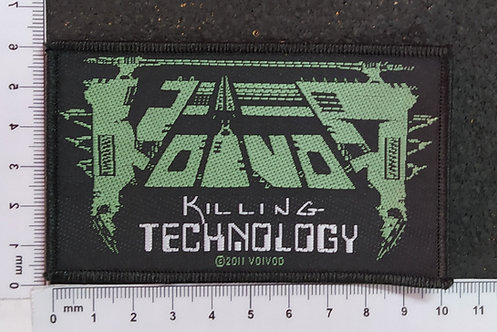 VOIVOD - KILLING TECHNOLOGY WOVEN PATCH