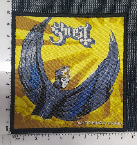 GHOST - FROM THE PINNACLE TO THE PIT WOVEN PATCH