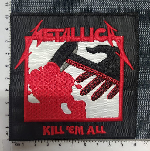 METALLICA - KILL ´EM ALL EMBROIDERED PATCH