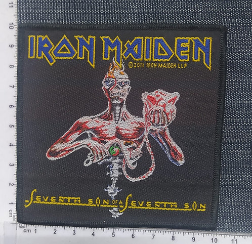 IRON MAIDEN - SEVENTH SON OF A SEVENTH SON WOVEN PATCH