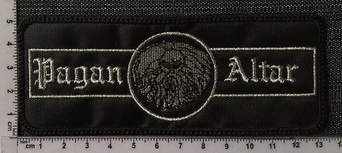 PAGAN ALTAR - LOGO EMBROIDERED PATCH