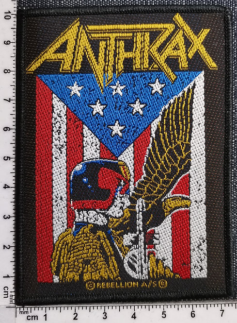 ANTHRAX - Judge DreddWoven Patch