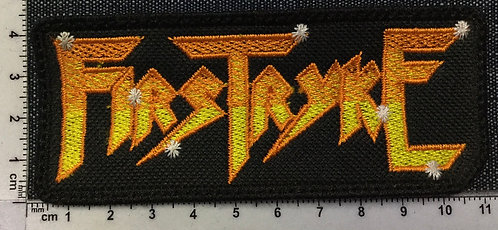 FIRSTRYKE - EMBROIDERED PATCH