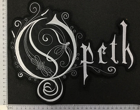 OPETH - LOGO EMBROIDERED BACK PATCH