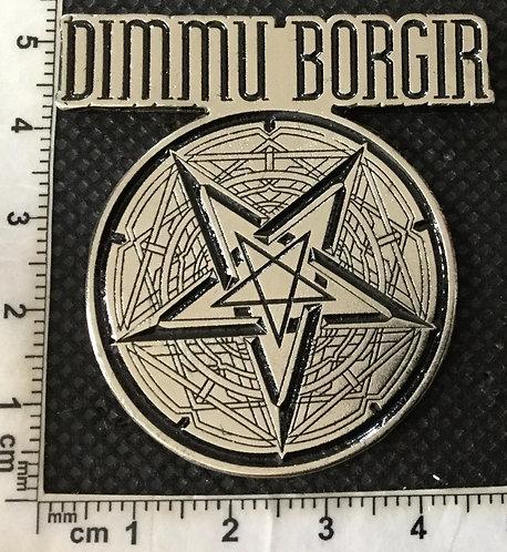 DIMMU BORGIR - PENTAGRAM Metal pin