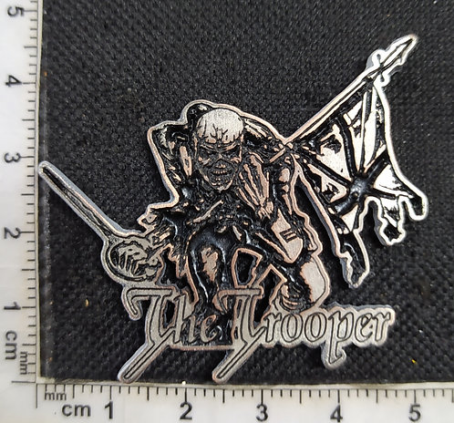 IRON MAIDEN - THE TROOPER METAL PIN