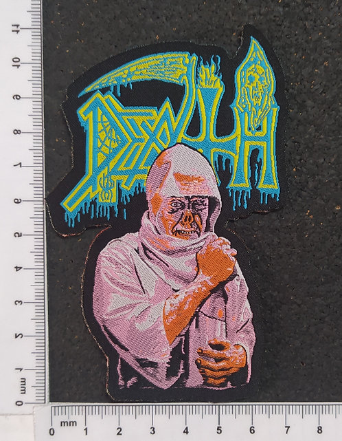 DEATH - LEPROSY WOVEN PATCH