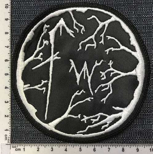 FORGOTTEN WOODS - CIRCLE LOGO EMBROIDERED PATCH