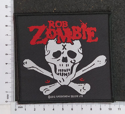 ROB ZOMBIE - SPOOKSHOW DELUXE WOVEN PATCH