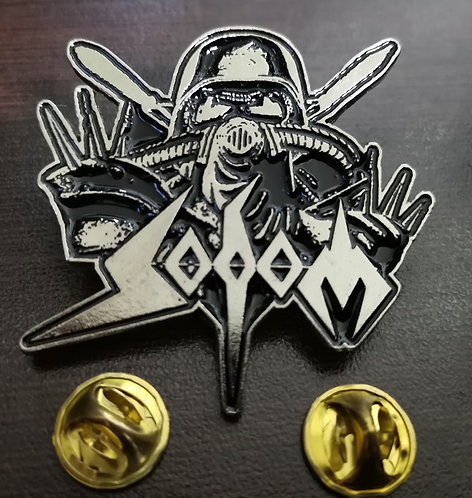 SODOM - AGENT SOLDIER Metal Pin
