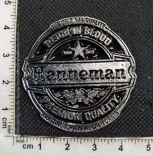 HANNEMAN - REIGN IN BLOOD METAL PIN