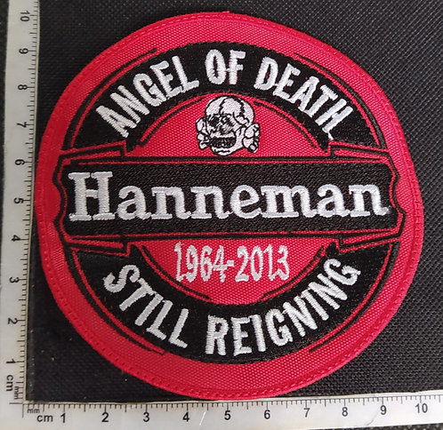 HANNEMAN - ANGEL OF DEATH EMBROIDERED PATCH