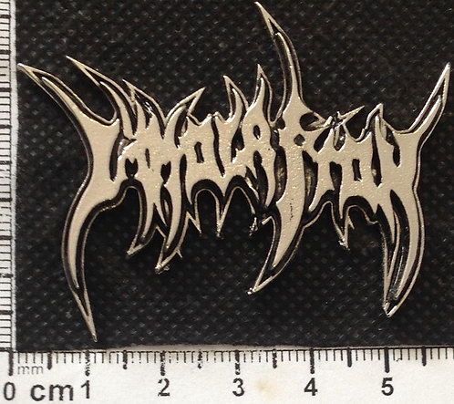 IMMOLATION - LOGO Metal Pin