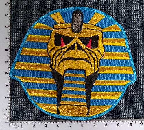 IRON MAIDEN - POWERSLAVE EMBROIDERED PATCH