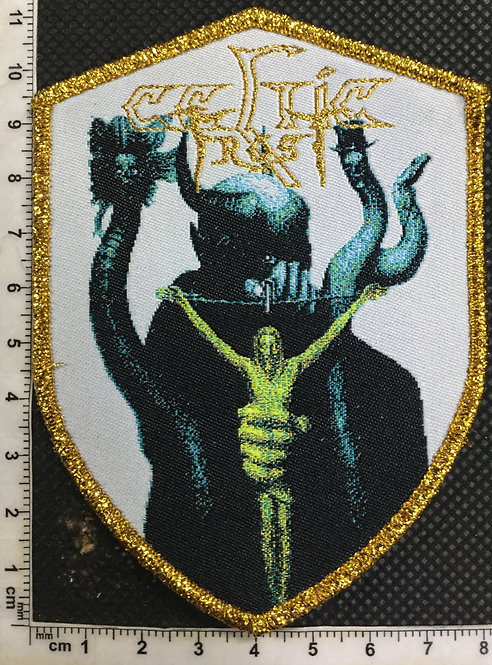 CELTIC FROST - TO MEGA THERION WOVEN PATCH