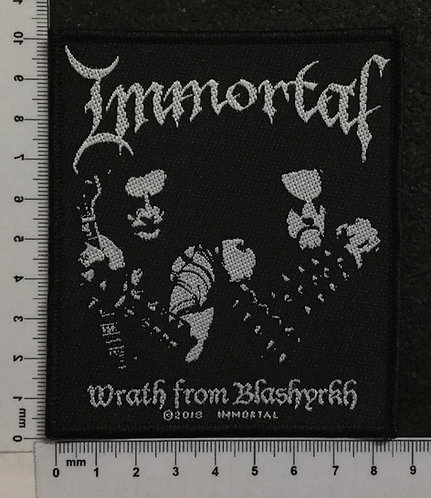IMMORTAL - WRATH FROM BLASHYRKH WOVEN PATCH