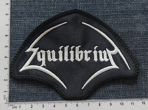 EQUILIBRIUM - LOGO EMBROIDERED PATCH
