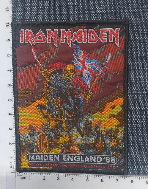 IRON MAIDEN - MAIDEN ENGLAND ´88 WOVEN PATCH