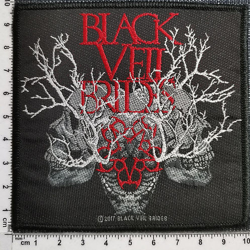 BLACK VEIL BRIDES - Skulls Woven Patch