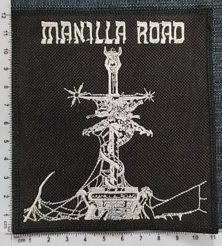 MANILLA ROAD -  DRAGON EMBROIDERED PATCH
