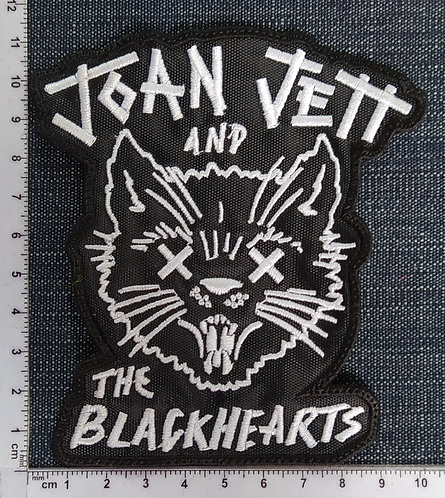 JOAN JETT - EMBROIDERED PATCH